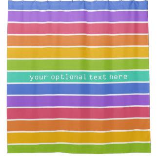 虹はカスタムなシャワー・カーテンを着色します シャワーカーテン