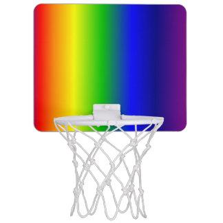 虹は勾配の小型バスケットボールのゴールを着色します ミニバスケットボールゴール