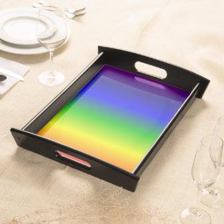 虹は大きいトレイを着色します トレー
