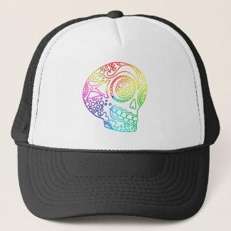 虹は愛の砂糖のスカルを並べます キャップ