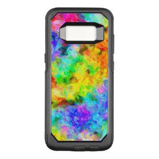 虹は油性ペイントを着色します オッターボックスコミューターSamsung GALAXY S8 ケース