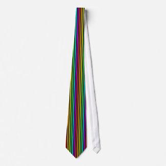 虹は縞で飾ります オリジナルネクタイ