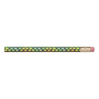虹は鉛筆に点を打ちます 鉛筆