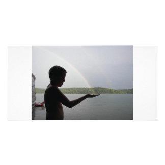 虹をつかまえること カード