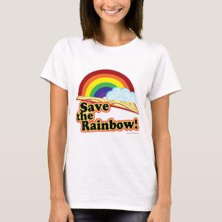 虹を救って下さい! Tシャツ