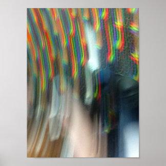 虹を通って落下 ポスター