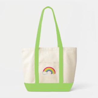 虹を食べて下さい! トートバッグ