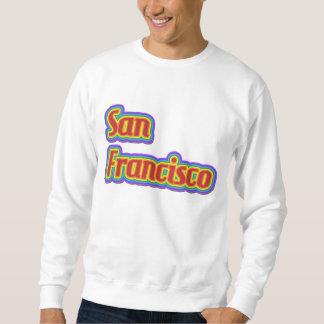 虹サンフランシスコ-白の… スウェットシャツ
