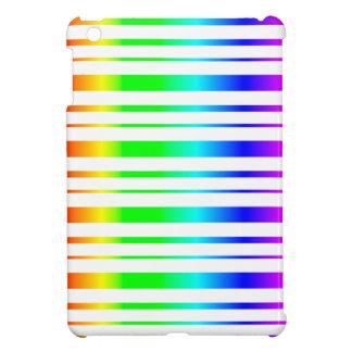 虹ストライプなパターンiPad Miniケース iPad Miniケース