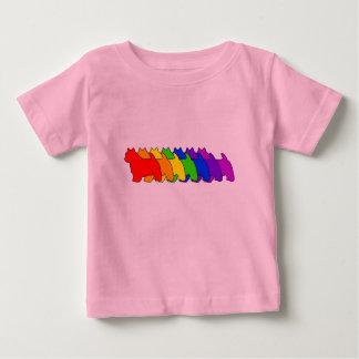 虹ノーリッジ ベビーTシャツ
