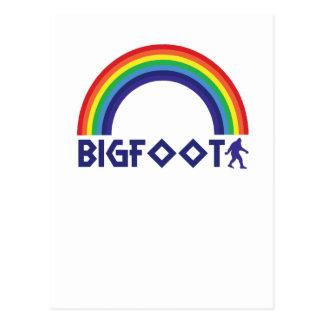 虹ビッグフット ポストカード