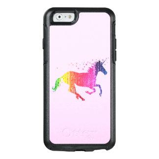 虹ピンクのユニコーン オッターボックスiPhone 6/6Sケース