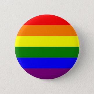 虹ボタン 5.7CM 丸型バッジ