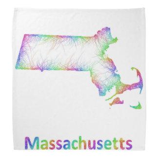 虹マサチューセッツ地図 バンダナ