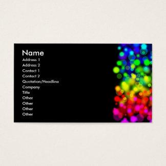 虹ライト 名刺