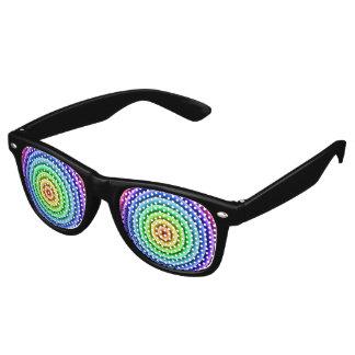 虹レンズ レトロサングラス