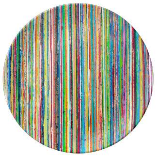 虹ロールディナー用大皿 磁器プレート