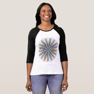 虹光線 Tシャツ