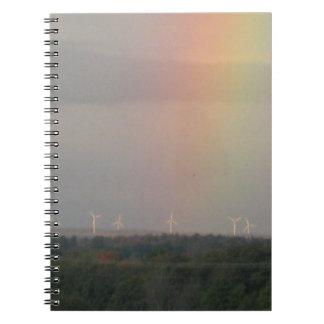 虹及び風車 ノートブック