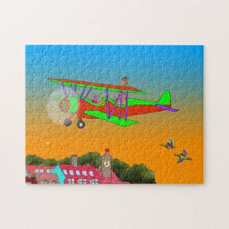 虹及びLilaの飛行 ジグソーパズル