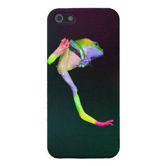 虹巨大なろう猿のカエル iPhone 5 COVER