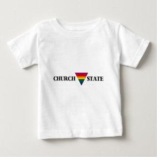虹教会三角形の国家 ベビーTシャツ