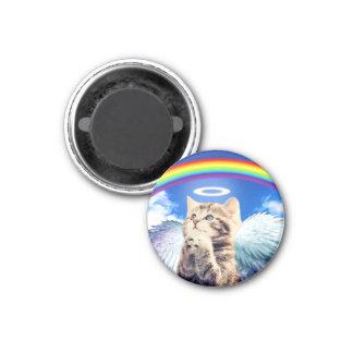 虹猫-猫の祈ること-猫-かわいい猫 マグネット
