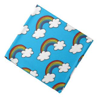虹色そして白い雲 バンダナ