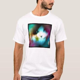 虹色のかんじきの子猫 Tシャツ