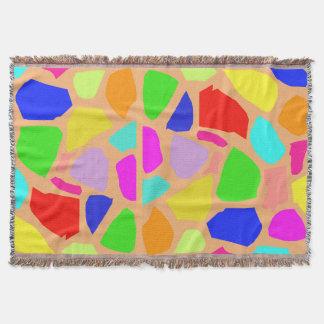 虹色のキリンの質のブランケット スローブランケット