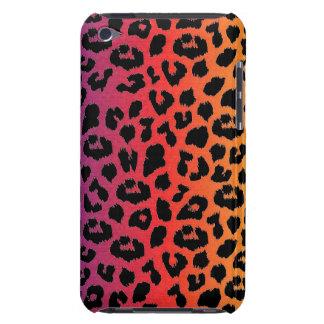 虹色のファンタジーのヒョウのプリントパターン Case-Mate iPod TOUCH ケース