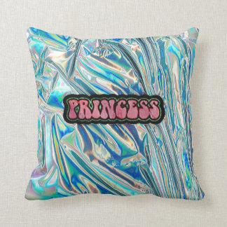 虹色のプリンセスの枕 クッション