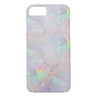 虹色の大理石の人魚の石のiPhoneの場合 iPhone 7ケース