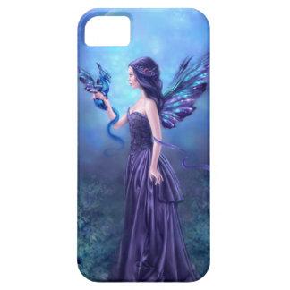 虹色の妖精及びドラゴンの芸術のiPhoneの5/5S場合 iPhone 5 ケース