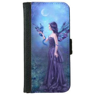 虹色の妖精及びドラゴンの芸術のiPhone 6のウォレットケース iPhone 6/6s ウォレットケース