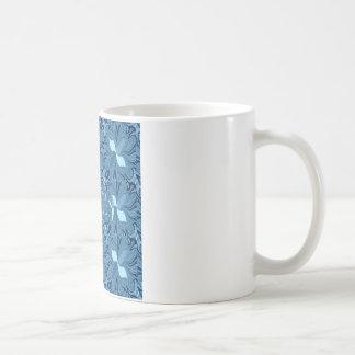 虹色の青 コーヒーマグカップ