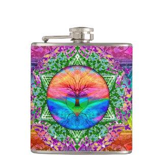 虹色の静まる生命の樹 フラスク
