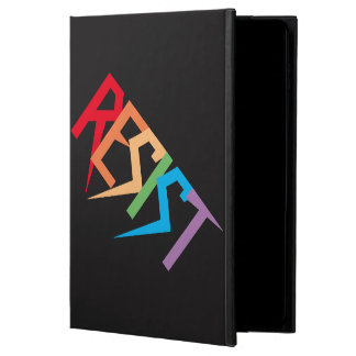 虹色のPowisのiPadの空気2場合で抵抗して下さい Powis iPad Air 2 ケース