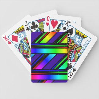 虹色スペクトル バイスクルトランプ