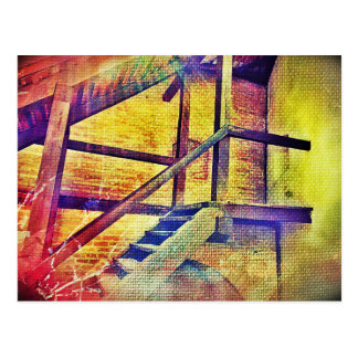 虹色階段 ポストカード