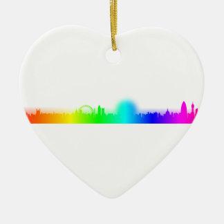 虹都市ロンドン セラミックオーナメント