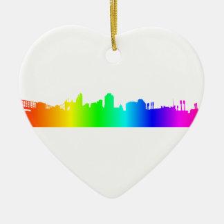 虹都市 セラミックオーナメント