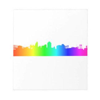 虹都市 ノートパッド
