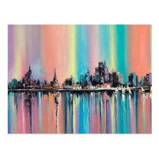 虹都市 ポストカード