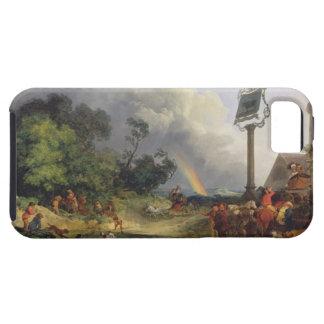 虹1784年(キャンバスの油) iPhone SE/5/5s ケース