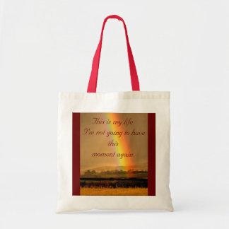 虹。 これは私の生命です。バッグのインスピレーション トートバッグ