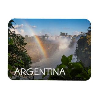 虹、アルゼンチンが付いているIguazúの滝 マグネット