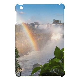 虹、アルゼンチンが付いているIguazúの滝 iPad Miniケース