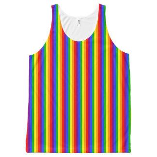 虹 オールオーバープリントタンクトップ