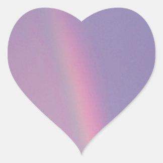 虹 ハートシール